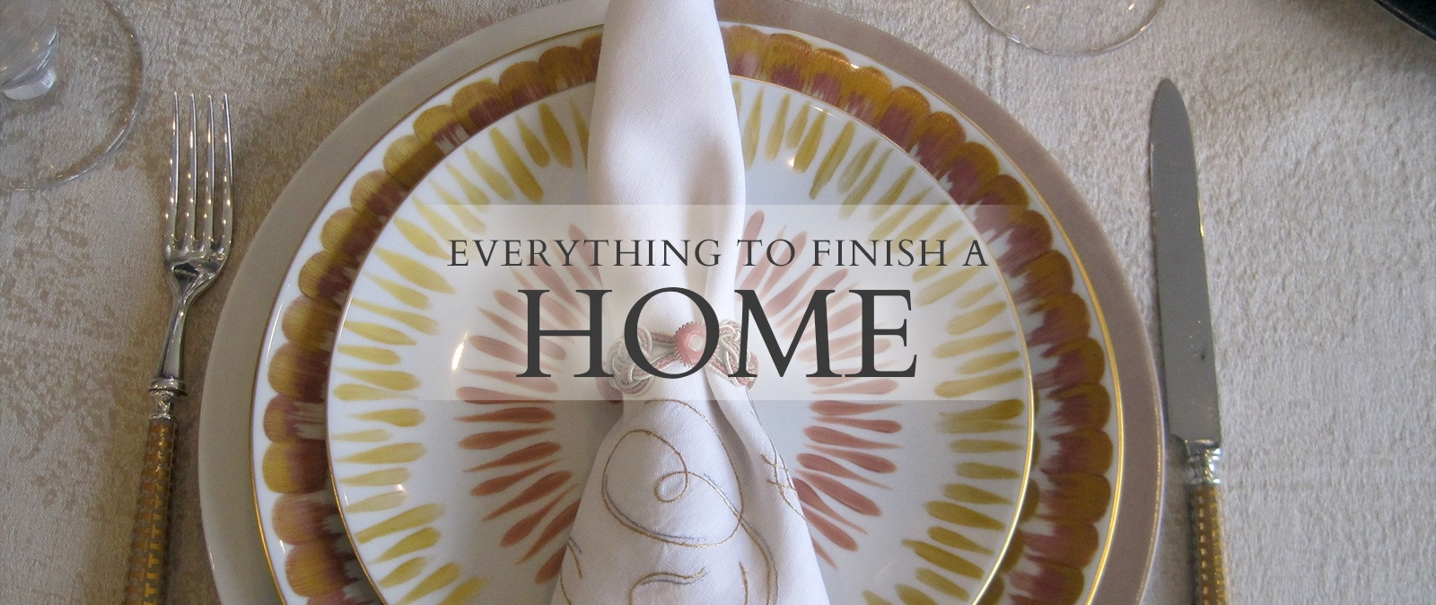 Everything to Finish a Home - Luxury Home Decor by The Silver Peacock Inc.