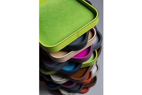 Multicolor Leather Storage Accessories at The Silver Peacock Inc.