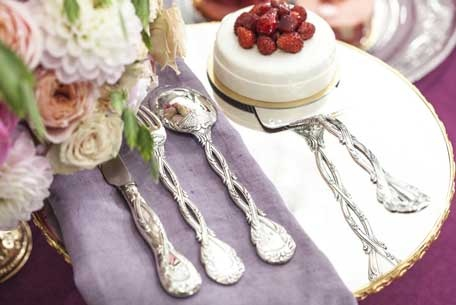 Odiot Silver Flatware at The Silver Peacock Inc.