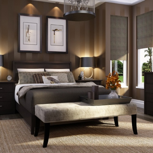 Modern Bedroom Interior Design Services in Oakville by PARSONS INTERIORS LTD.