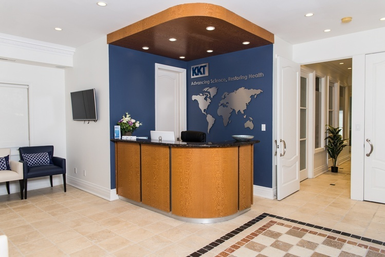 Doctor Office Mississauga - Interior Decorating by PARSONS INTERIORS LTD.