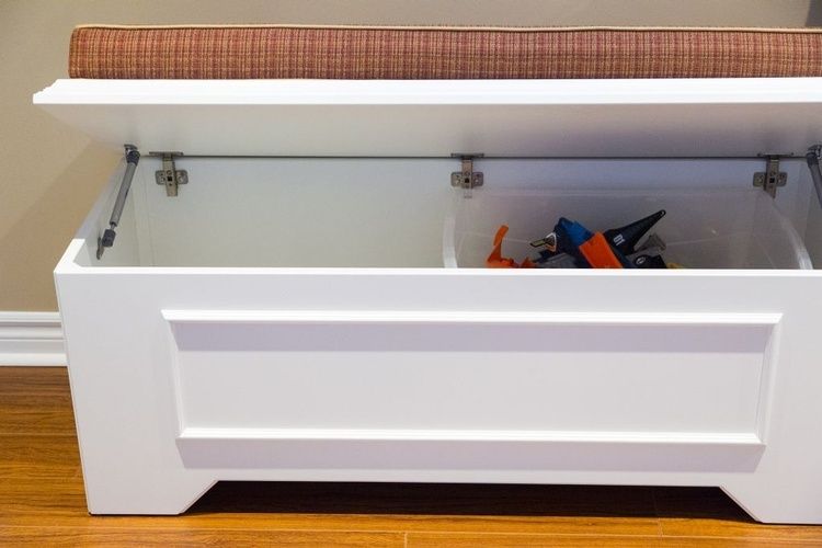 Custom Bench by PARSONS INTERIORS LTD. - Custom Furnishings in Mississauga