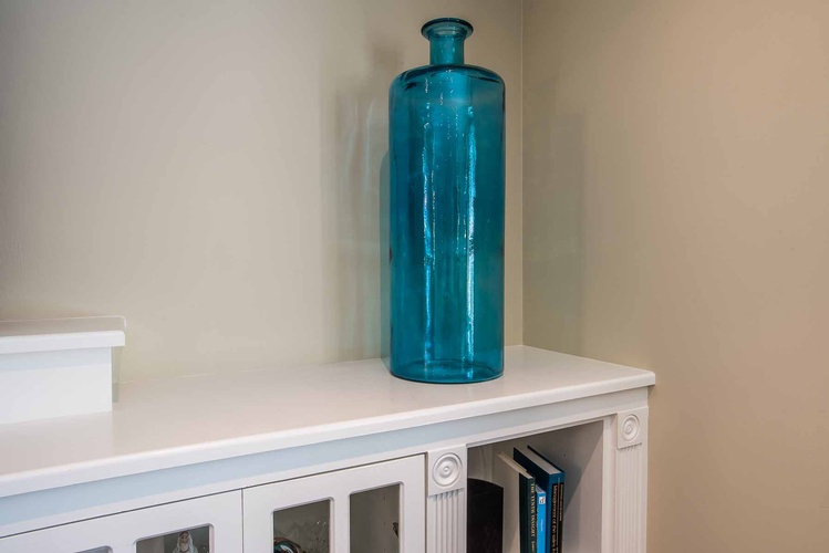 Decorative Glass Vase - Living Room Accessories by PARSONS INTERIORS LTD.