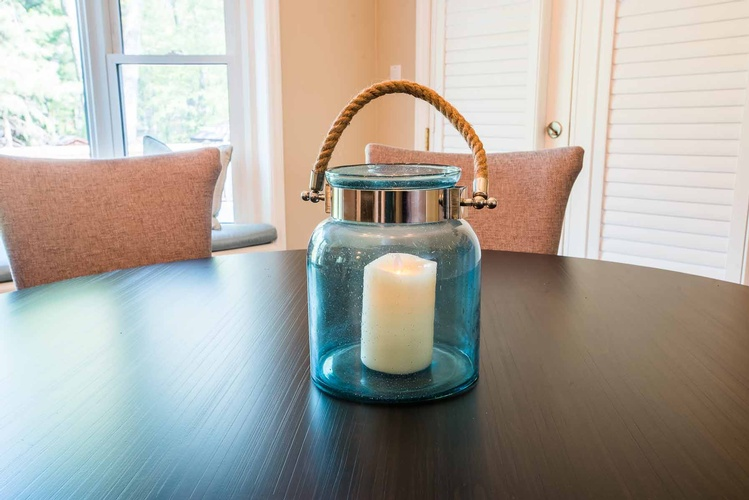 Decorative Candle Holder Accessory - Interior Decorating in Georgetown by PARSONS INTERIORS LTD.