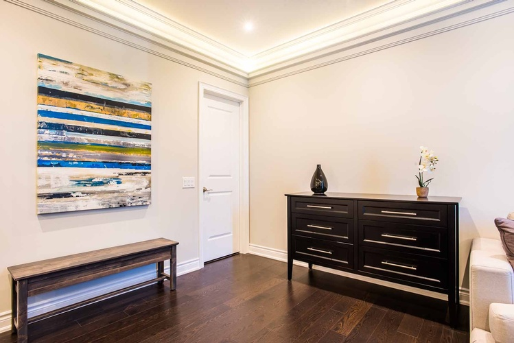 Bedroom Space Planning by  Interior Decorator in Mississauga - PARSONS INTERIORS LTD.
