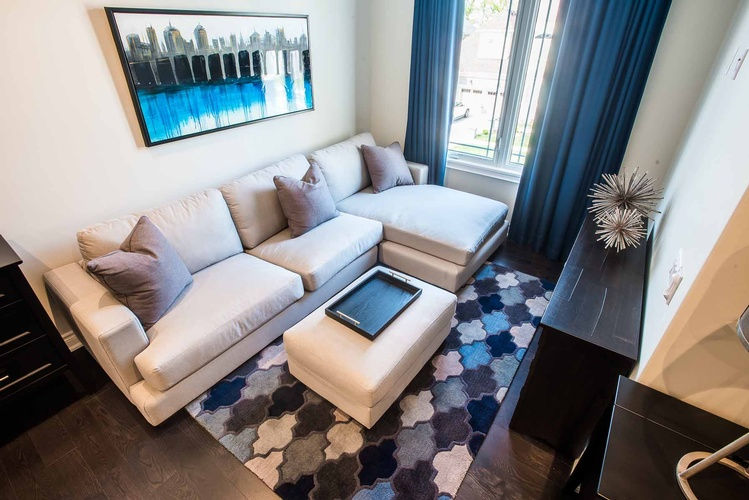 Custom Furnishings in Mississauga by PARSONS INTERIORS LTD.