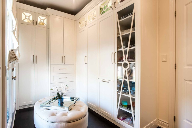 Girl's Bedroom Custom Dressing Room by PARSONS INTERIORS LTD.
