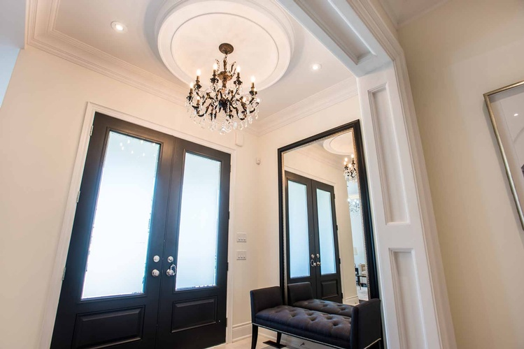 Main Foyer Chandelier - Accessories by PARSONS INTERIORS LTD.