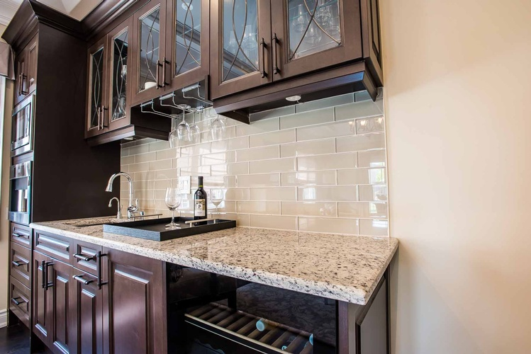 Kitchen Interior Design in Burlington by PARSONS INTERIORS LTD.