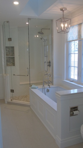 Bathroom Design Oakville ON by PARSONS INTERIORS LTD.