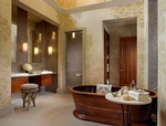 Bathroom Design in Georgetown by PARSONS INTERIORS LTD.