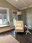 Drapery and soft furnishings by PARSONS INTERIORS LTD.