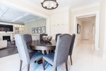 Dining Room Design Georgetown by PARSONS INTERIORS LTD.