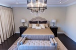 Master Bedroom Chandelier - Bedroom Accessories by PARSONS INTERIORS LTD.