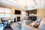 Living Room Design Mississauga ON by PARSONS INTERIORS LTD.