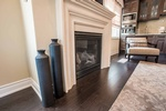 Fireplace Design in Georgetown by PARSONS INTERIORS LTD.