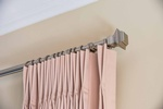 French Pleat Decorative Rod - Window Treatments by PARSONS INTERIORS LTD.