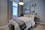 Bedroom Wall Decor in Oakville by Designer Specialist at PARSONS INTERIORS LTD.