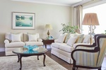 Reupholstered Living Room Furniture - Upholstery in Oakville by PARSONS INTERIORS LTD.