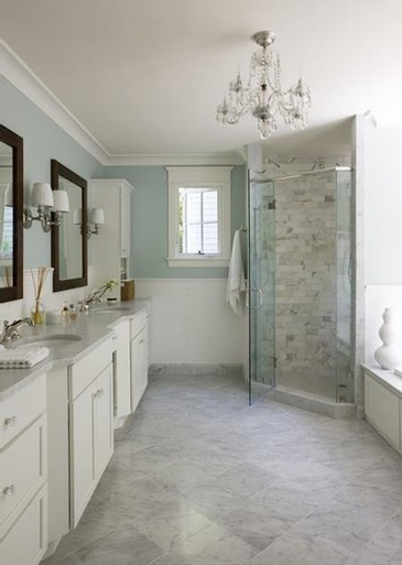 Bathroom Design in Oakville by Parsons Interiors Ltd.
