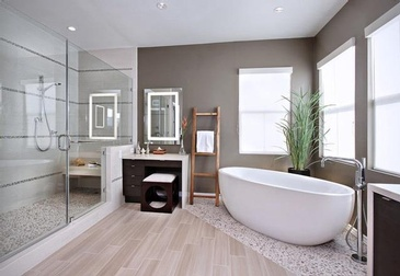 Bathroom Design Mississauga by Parsons Interiors Ltd.