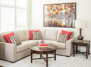 Living Room Accessories - Custom Sofa Mississauga by Parsons Interiors Ltd.