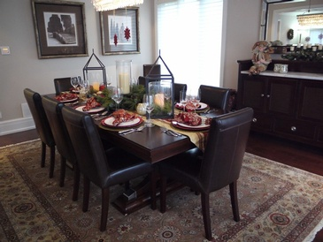 Holiday Decorating - Interior Decorating Consultation in Oakville by Parsons Interiors Ltd.