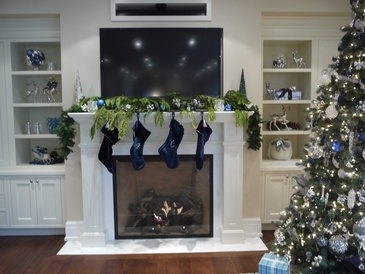 Holiday Decorating - Interior Lighting Installation in Mississauga by Parsons Interiors Ltd.
