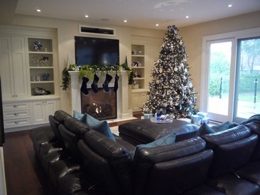 Holiday Decorating - Interior Decorating Services Mississauga by Parsons Interiors Ltd.