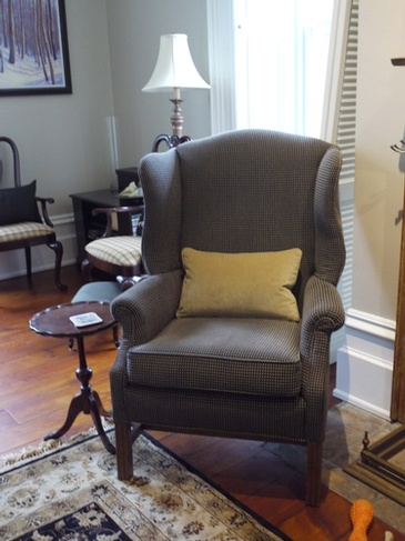 Reupholstery Chair Milton Farmhouse