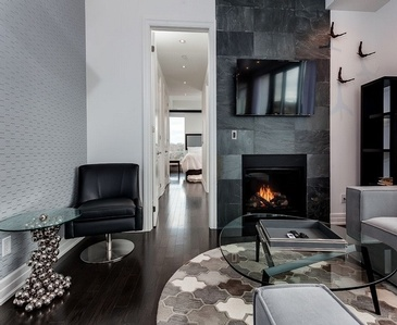 Feature Wall  Fire Place