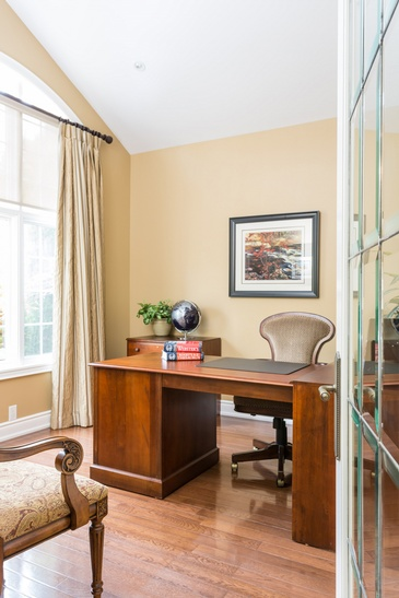 Office - Custom Furnishings in Oakville ON by Parsons Interiors Ltd.
