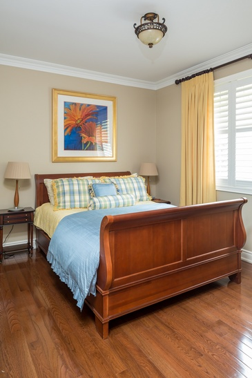 Guestroom - Home Interior Furniture in Mississauga ON by Parsons Interiors Ltd.