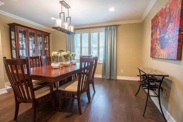 Dining Room - Wood Furniture Oakville by Parsons Interiors Ltd.