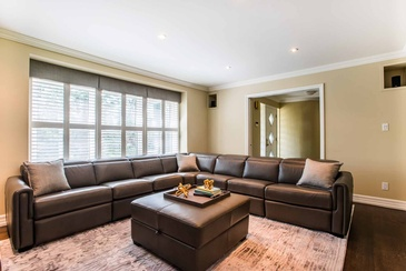 Family Room - Custom Sofa Mississauga by Parsons Interiors Ltd.