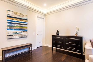 Boy's Bedroom Artwork - Custom Home Decor in Oakville ON by Parsons Interiors Ltd.
