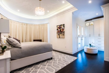 Girl's Bedroom Area Rug - Furniture Studio Oakville by Parsons Interiors Ltd.
