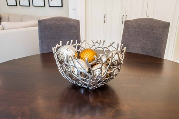 Kitchen Table Accessories - Certified Interior Design Specialist Oakville at Parsons Interiors Ltd.