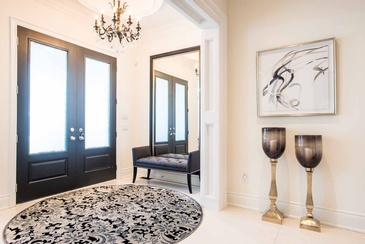 Main Foyer - Interior Decorating Services Mississauga ON by Parsons Interiors Ltd.