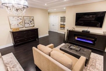 Master Bedroom Side Dresser - Living Room Design Mississauga by Parsons Interiors Ltd.