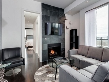 Luxury Old Mill Condo Interior Design by PARSONS INTERIORS LTD.