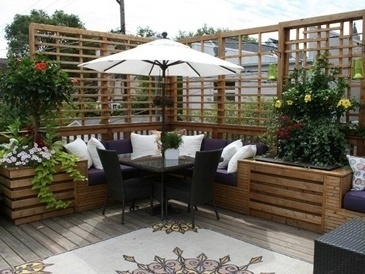 Outdoor Living Area Design Consultation by PARSONS INTERIORS LTD.