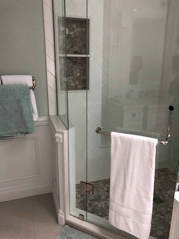 Guest Bathroom Pethouse - Bathroom Design Oakville ON by Parsons Interiors Ltd.