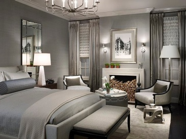 Bedroom Design Mississauga ON by PARSONS INTERIORS LTD.