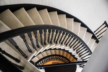 Stairs - Design Studio Oakville by Parsons Interiors Ltd.