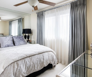 Guest Bedroom - Custom Bedding in Oakville ON by Parsons Interiors Ltd.