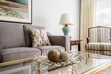Living Room Accessories - Interior Design in Mississauga by Parsons Interiors Ltd.