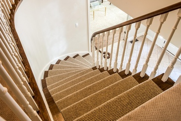 Stair Runner - Interior Design Services Oakville ON by Parsons Interiors Ltd.