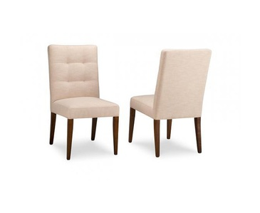 Item HSPI-P-CA20 Fabric - Custom Dining Room Chairs Oakville by Parsons Interiors Ltd.