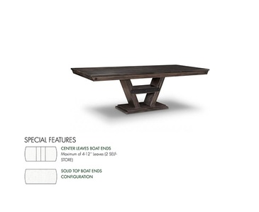 Item HSPI-P-AL4296-S - Custom Dining Tables Mississauga by Parsons Interiors Ltd.